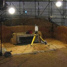高松塚古墳解体修理に伴う3次元計測
