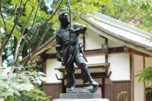 雄略天皇像の写真
